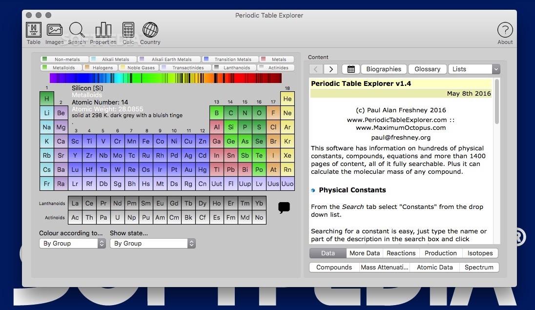 Download Periodic Table Explorer Mac 16