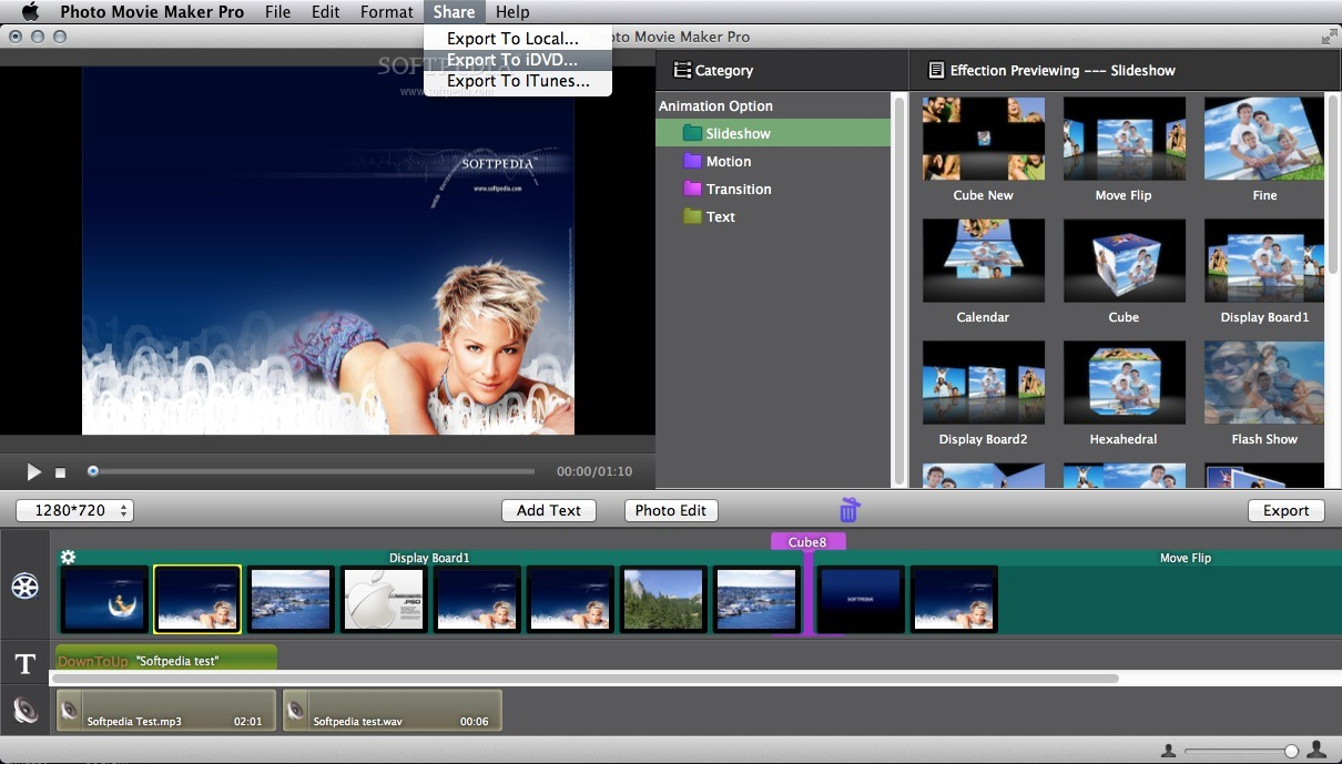 Download Photo Movie Maker Pro Mac 3 1 1