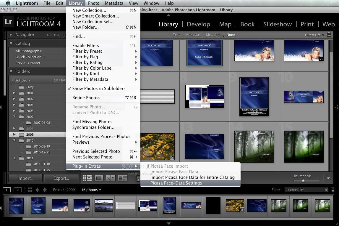 how to get rid of camera info on lightroom