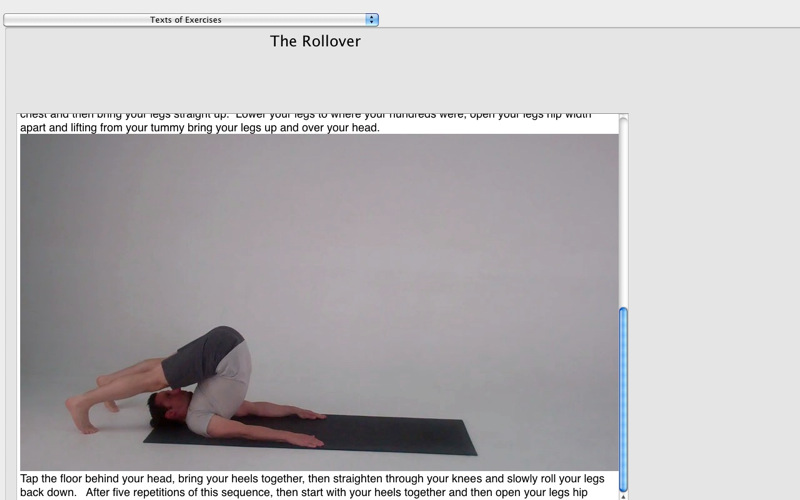 Pilates Classic DT screenshot 1