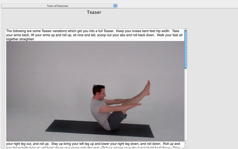 Pilates Classic DT screenshot 5