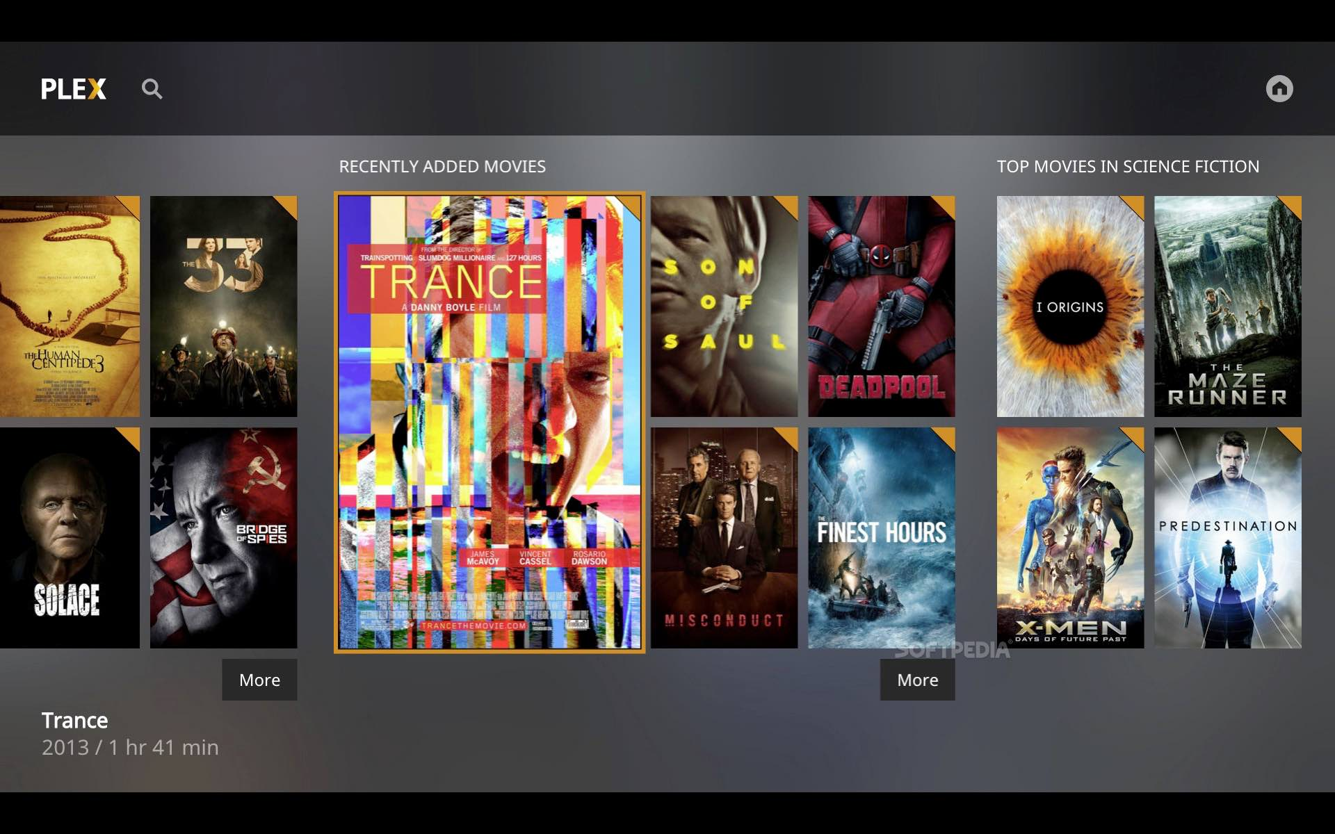 Where is the native plex player for mac