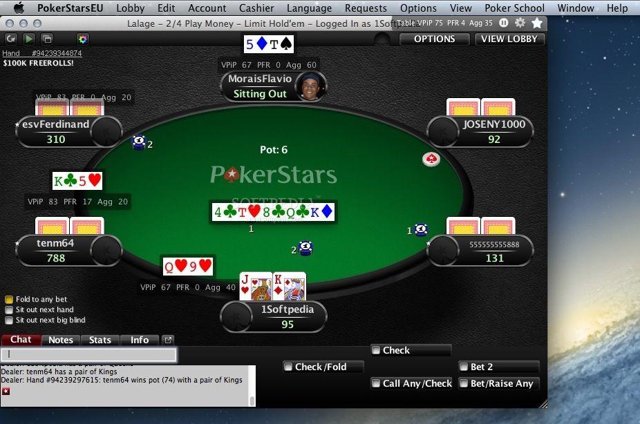 Pokerstars Download Mac