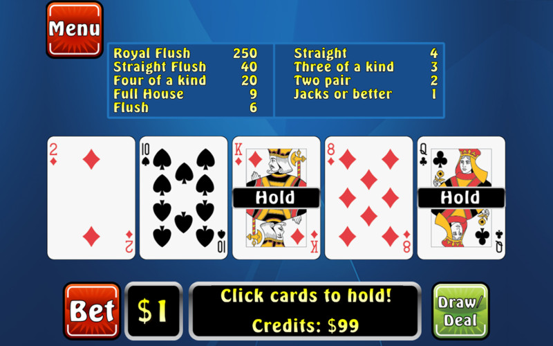 Poker Fever screenshot 1
