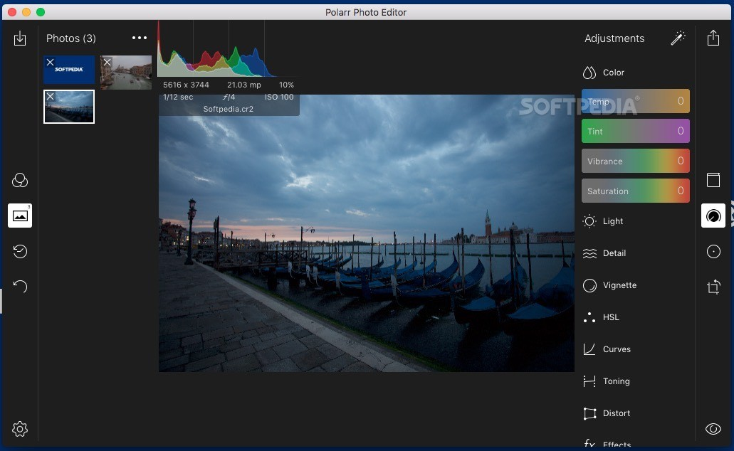editor de fotos polarr pro apk