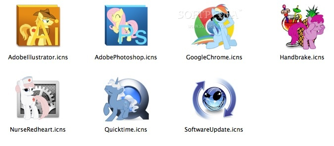 Pony Icon Set Mac - Download