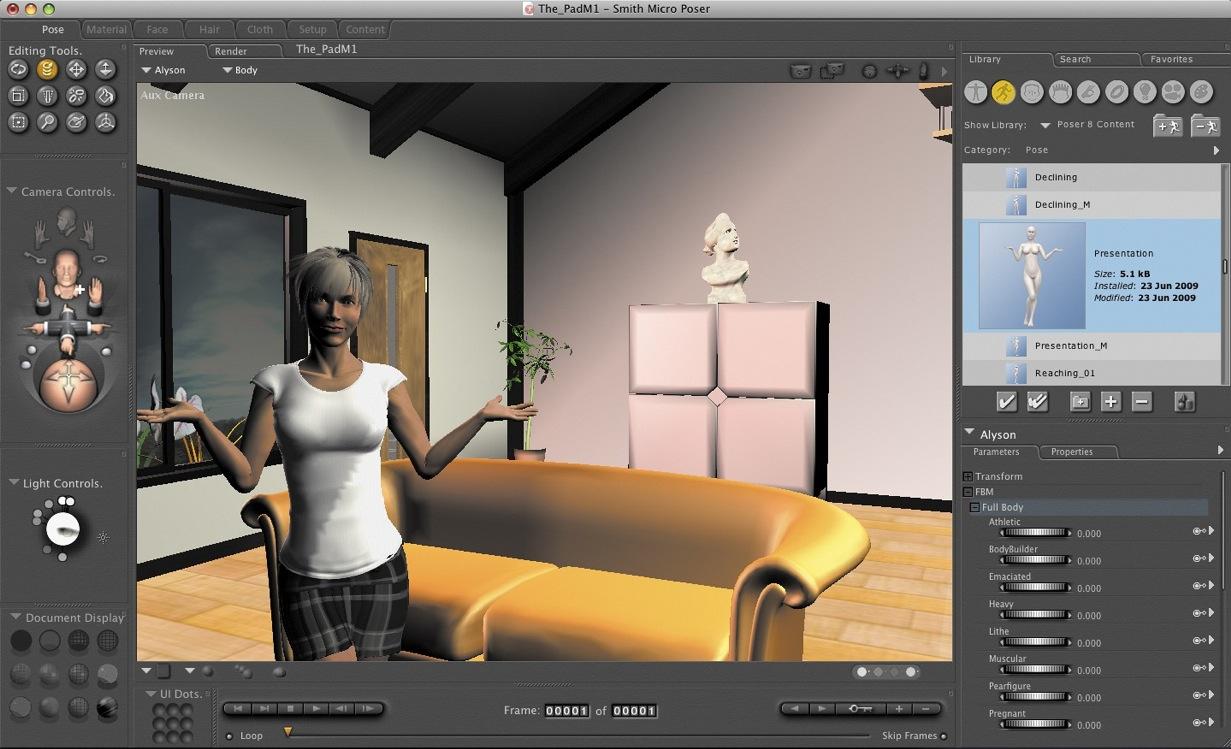 Poser Pro Mac 11 0 1 SR1 - Download