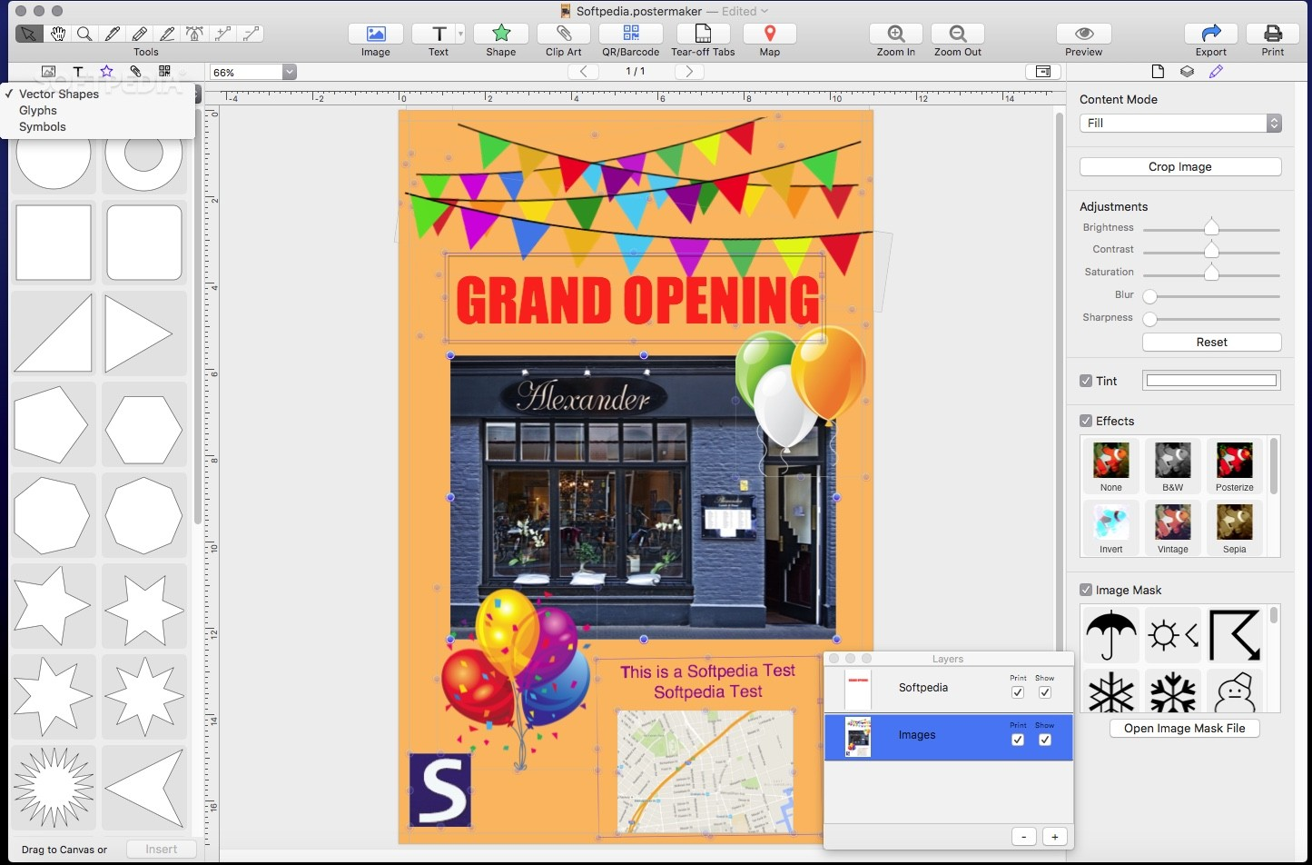 Download Poster Maker Mac 1.1.0 Build 2