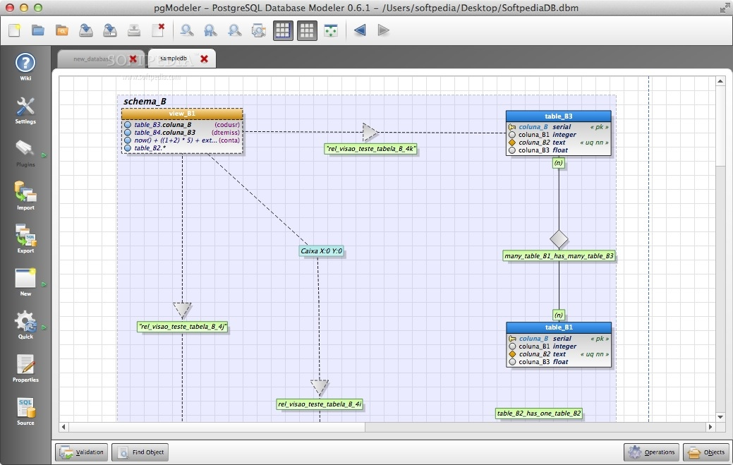 data modeling tools for mac