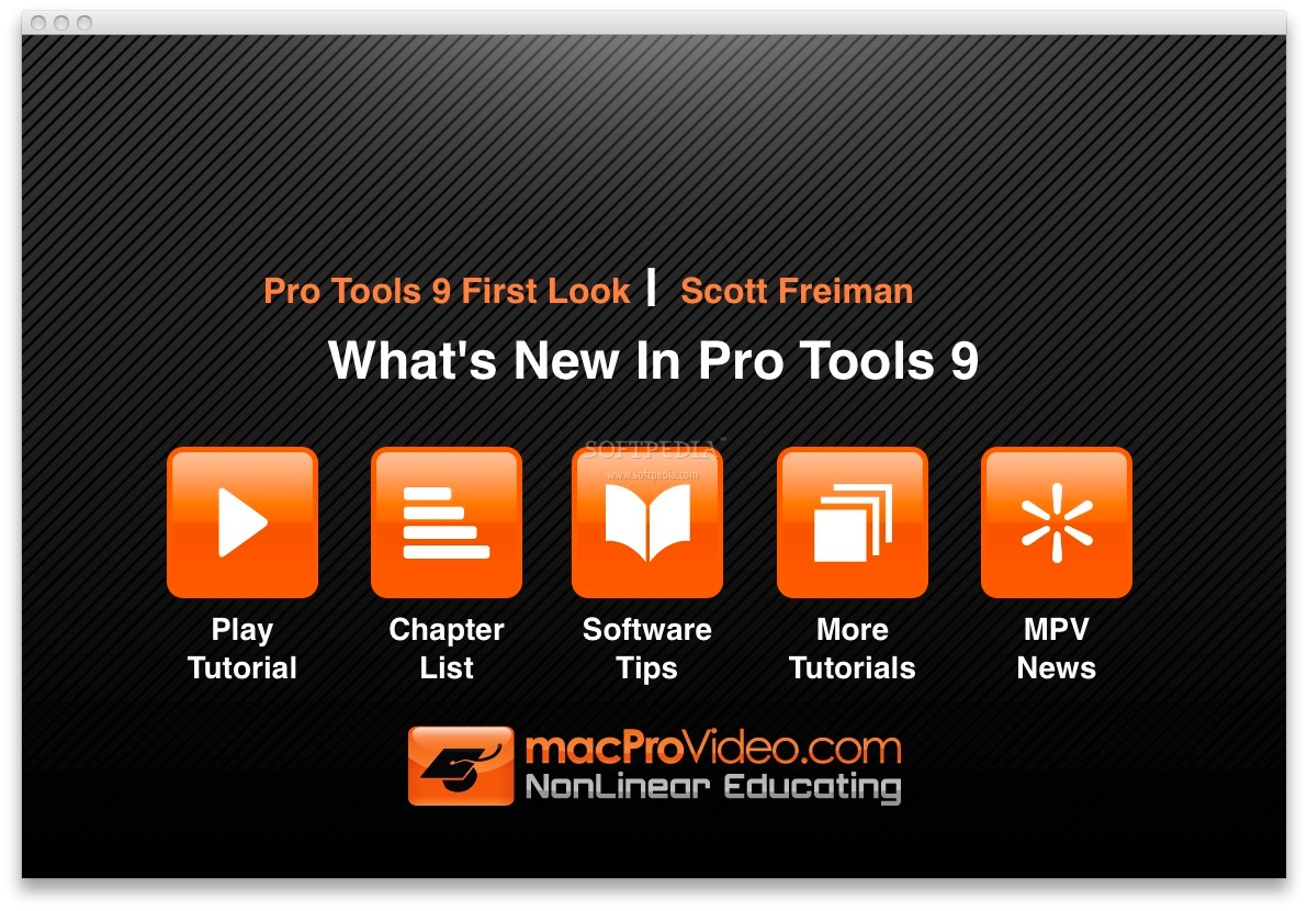 pro tools 9 download mac