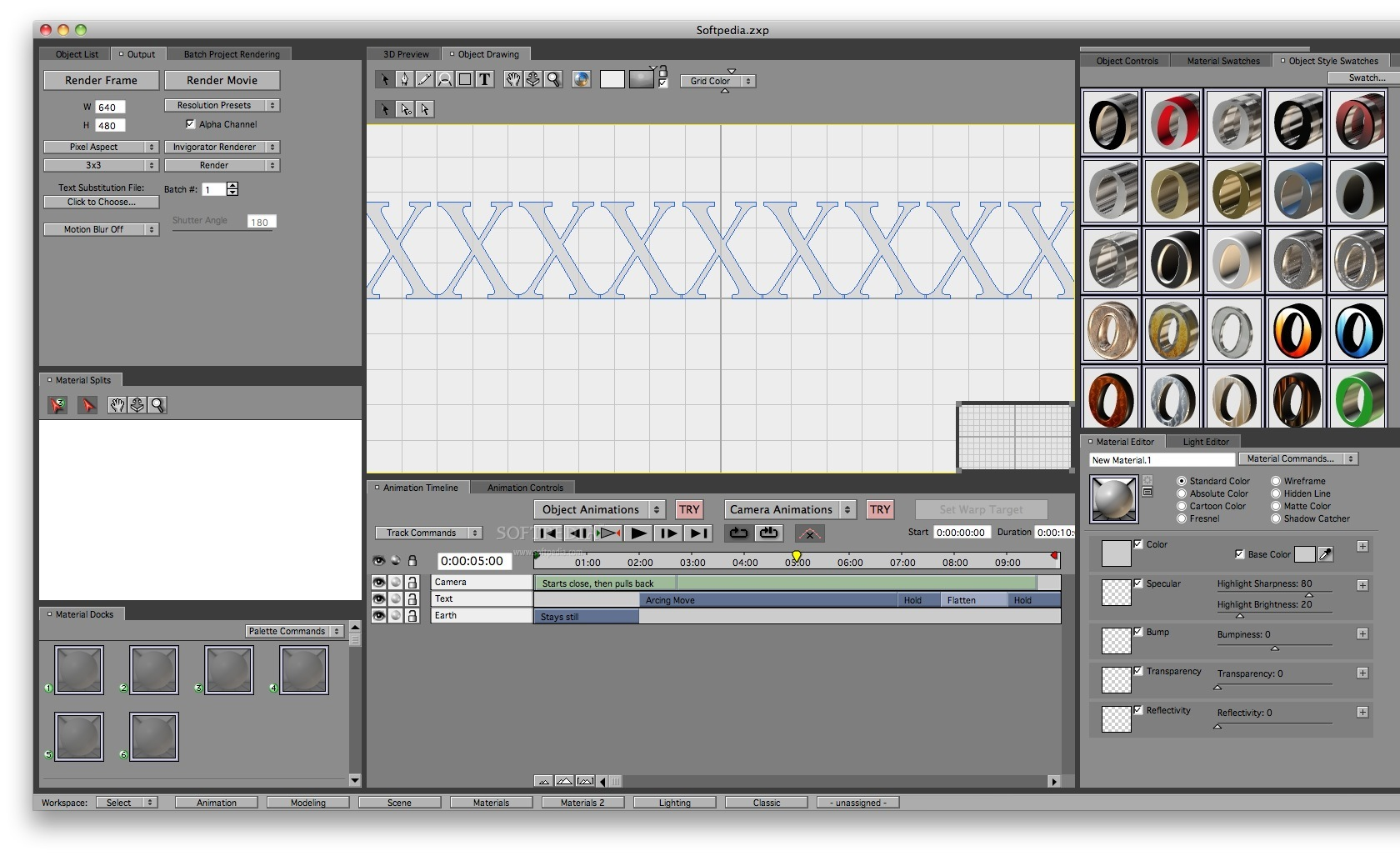 ProAnimator screenshot 3 - You can also draw objects.