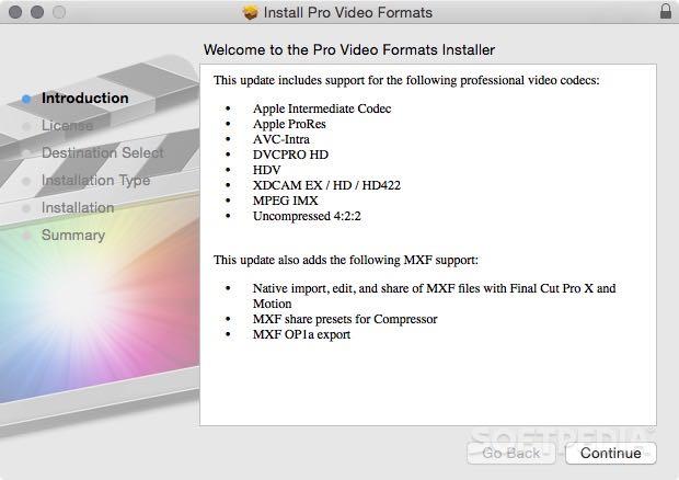 dvcpro hd codec mac download