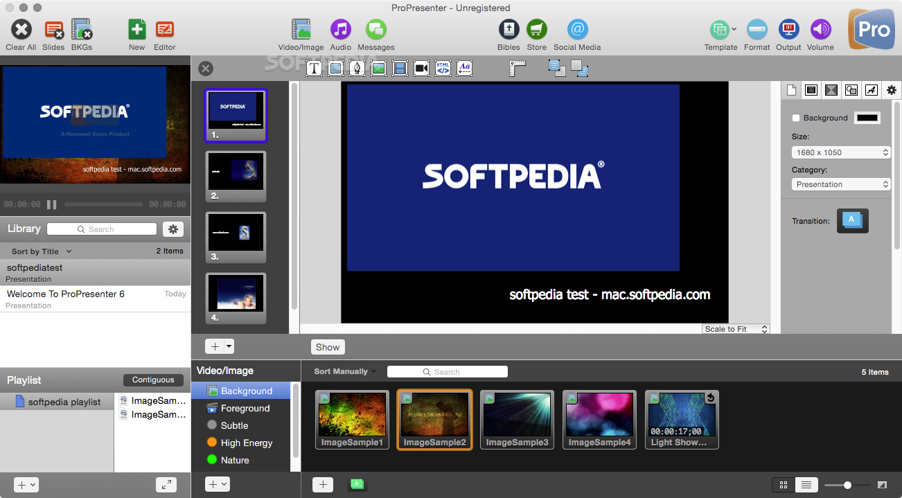 ProPresenter Mac 6 4 - Download