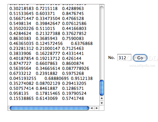 Probability Book screenshot 2 - A number generating simulation.