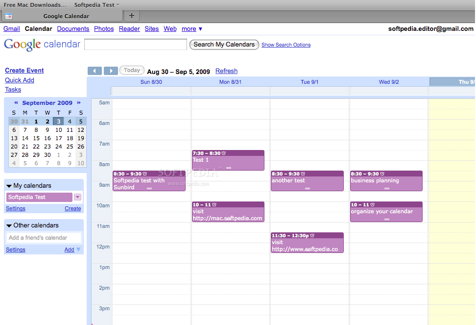 Provider for Google Calendar screenshot 1