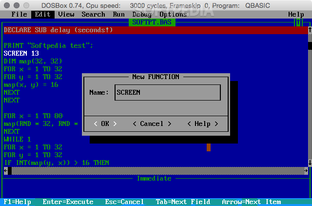 Qbasic Mac 1 1 - Download