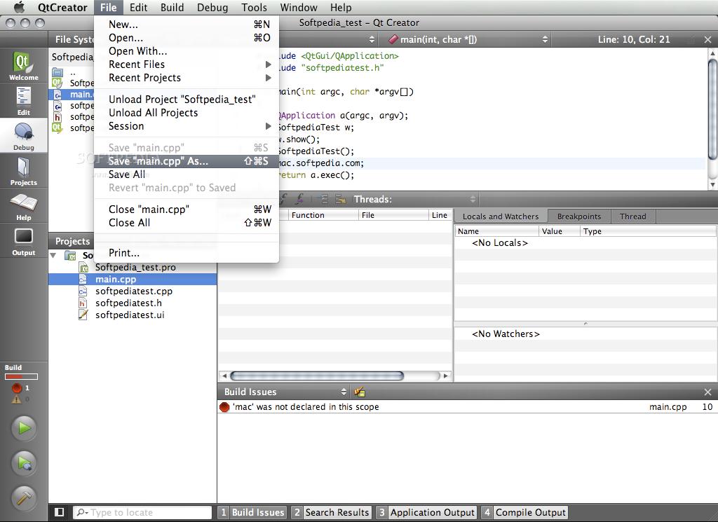 Qt Creator Mac 4 9 2 - Download