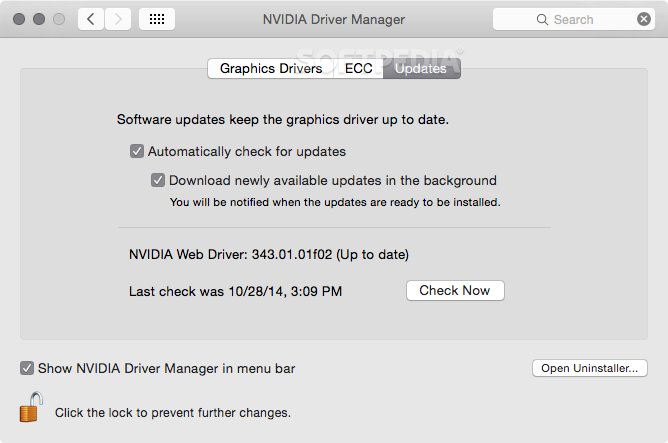 Updating mac graphics drivers