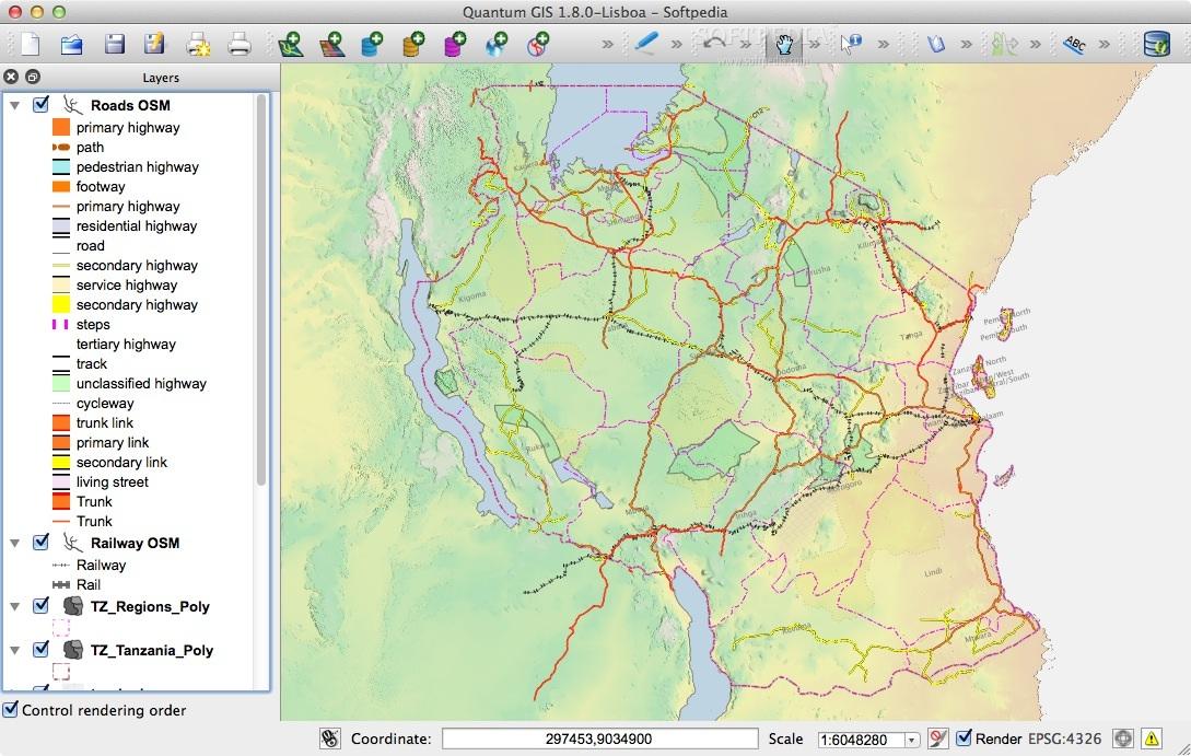 QGIS Mac 3 8 1-1 - Download