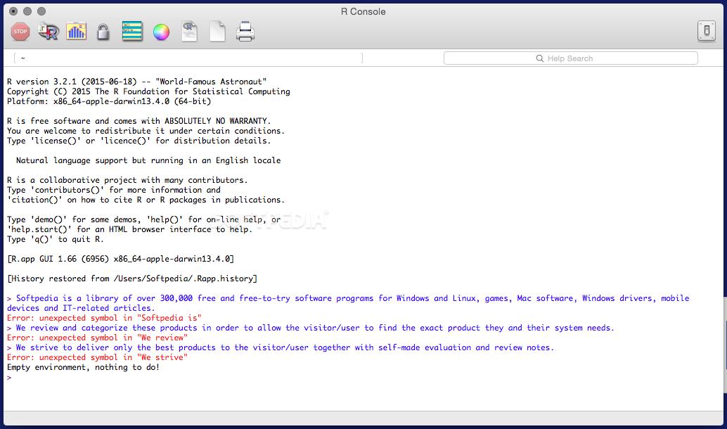 R Mac 4.0.2 - Download