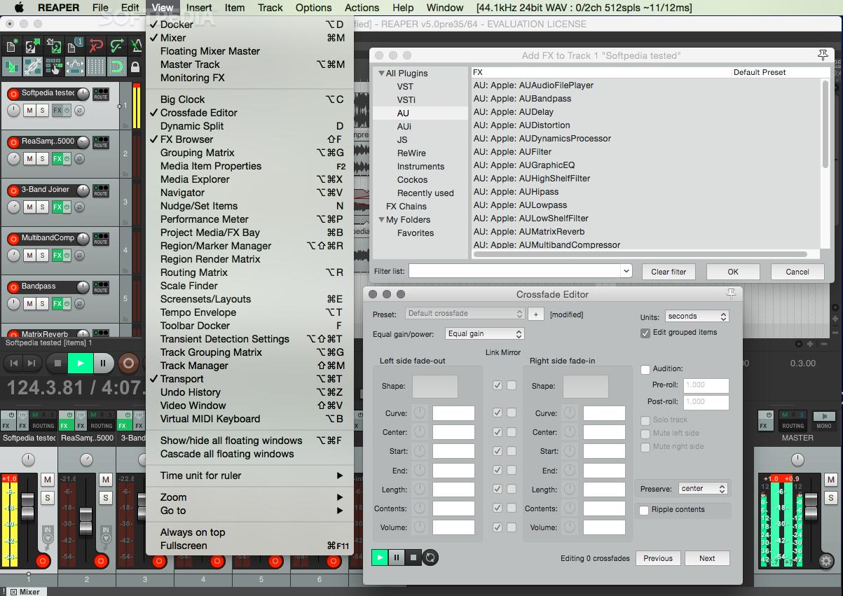 REAPER Mac 5 981 - Download