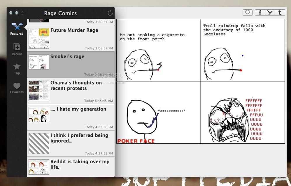 Rage Comics Pro Mac 1 1 - Download