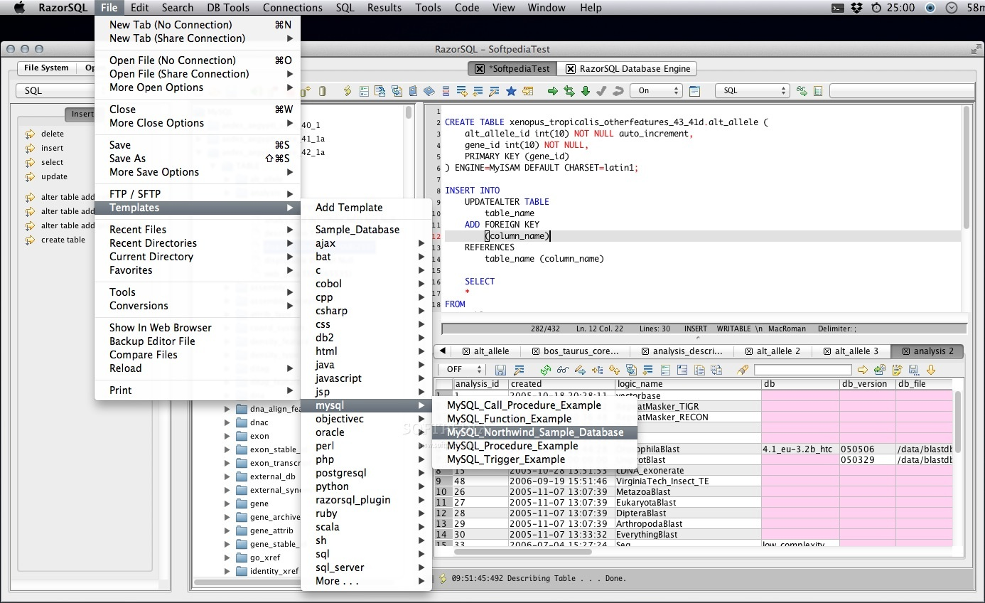 RazorSQL screenshot 5