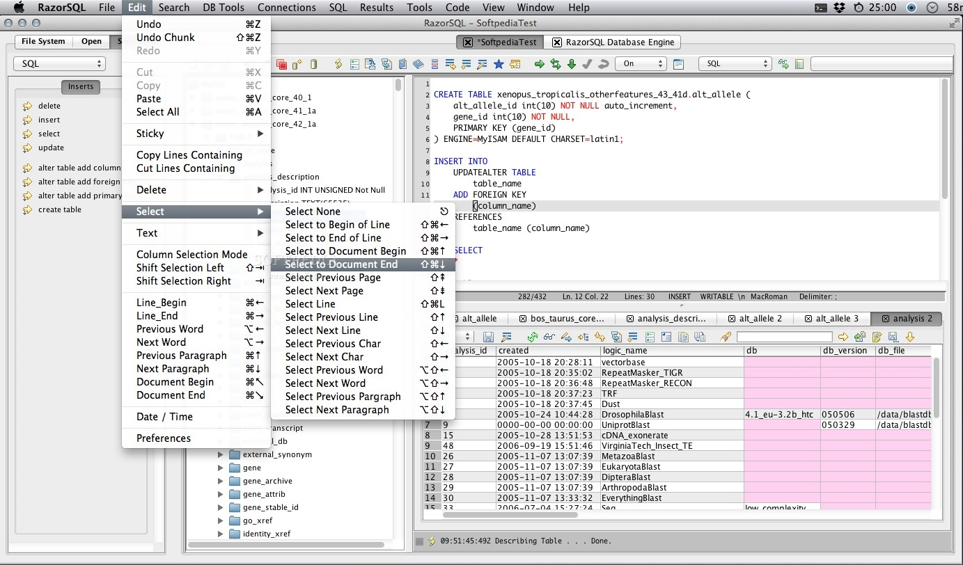 RazorSQL screenshot 6