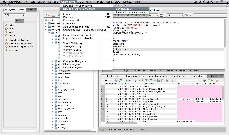 RazorSQL Mac 8 4 3 - Download