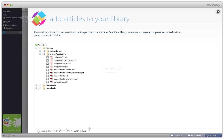 ReadCube Mac 1 2 005 Beta - Download