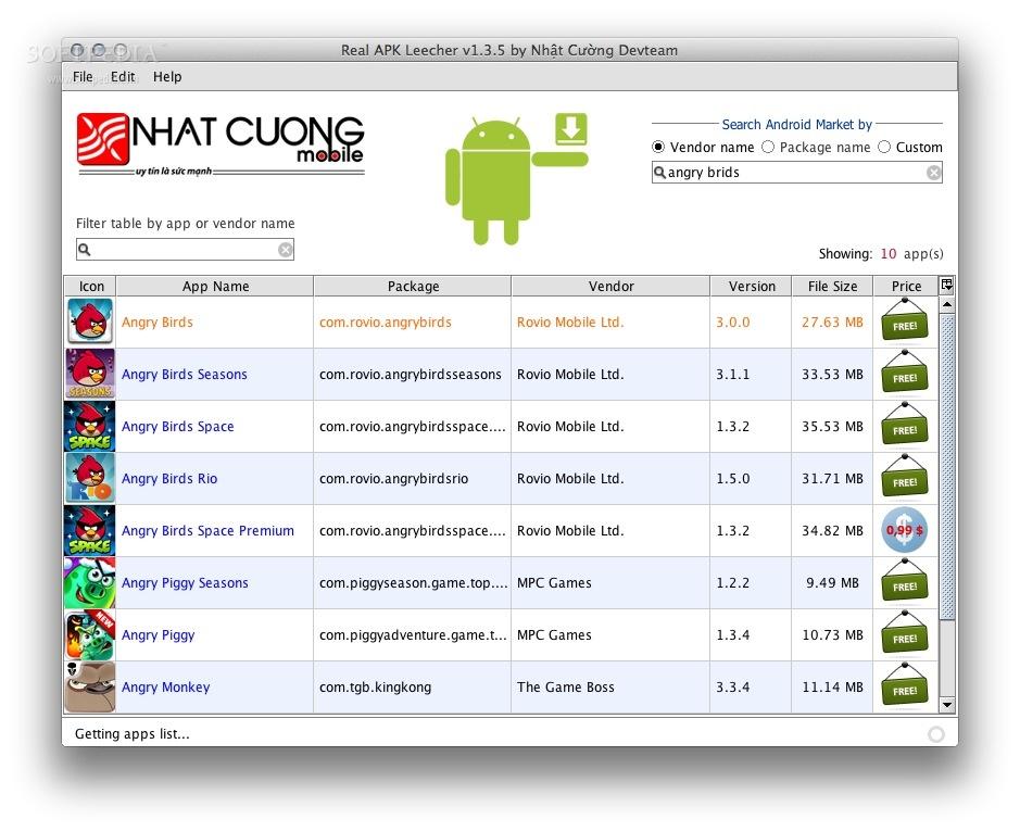 Real APK Leecher Mac 1 3 6 - Download