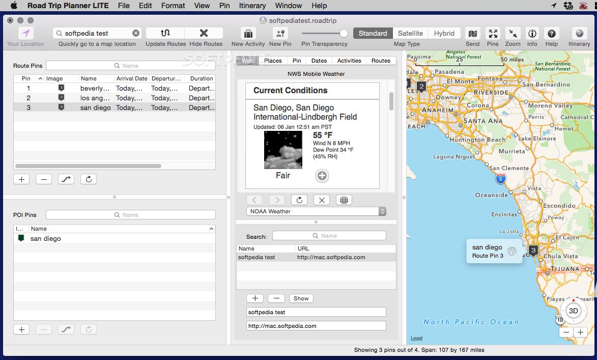 Road Trip Planner >> Road Trip Planner Mac 4 5 98 Download