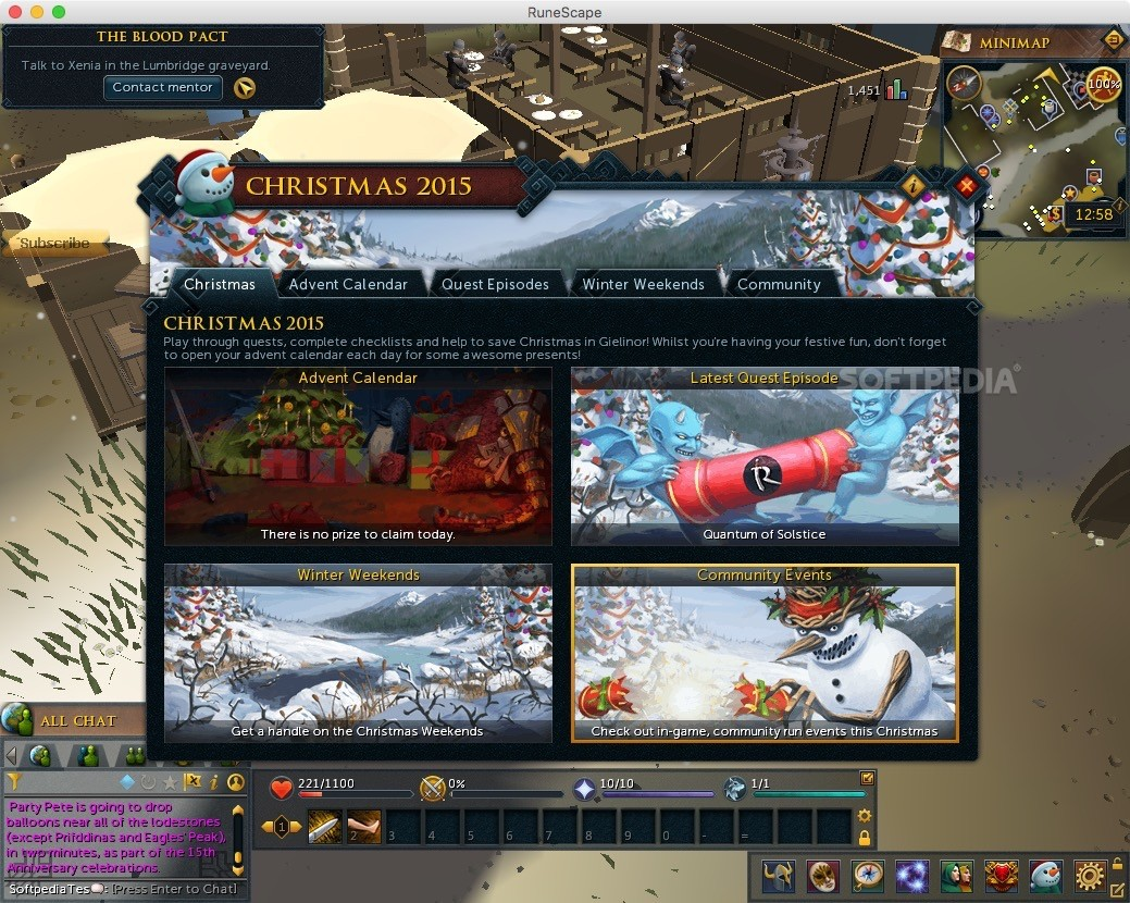 RuneScape Mac 2 2 4 - Download
