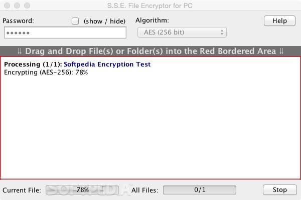 S S E  File Encryptor Mac 10R3A - Download