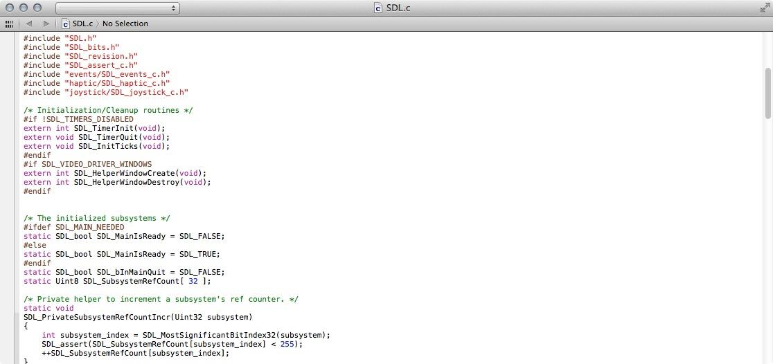 SDL Mac 2 0 3 - Download