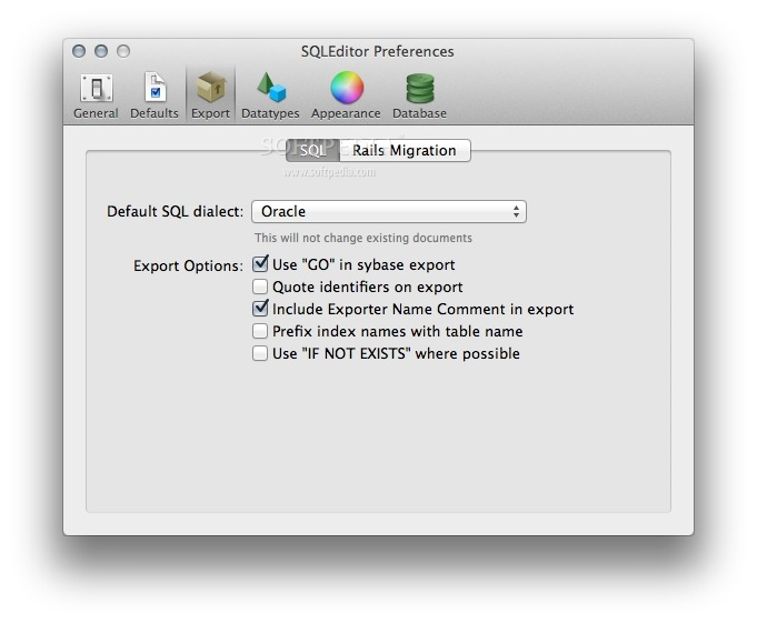 SQLEditor Mac 3 5 6 - Download