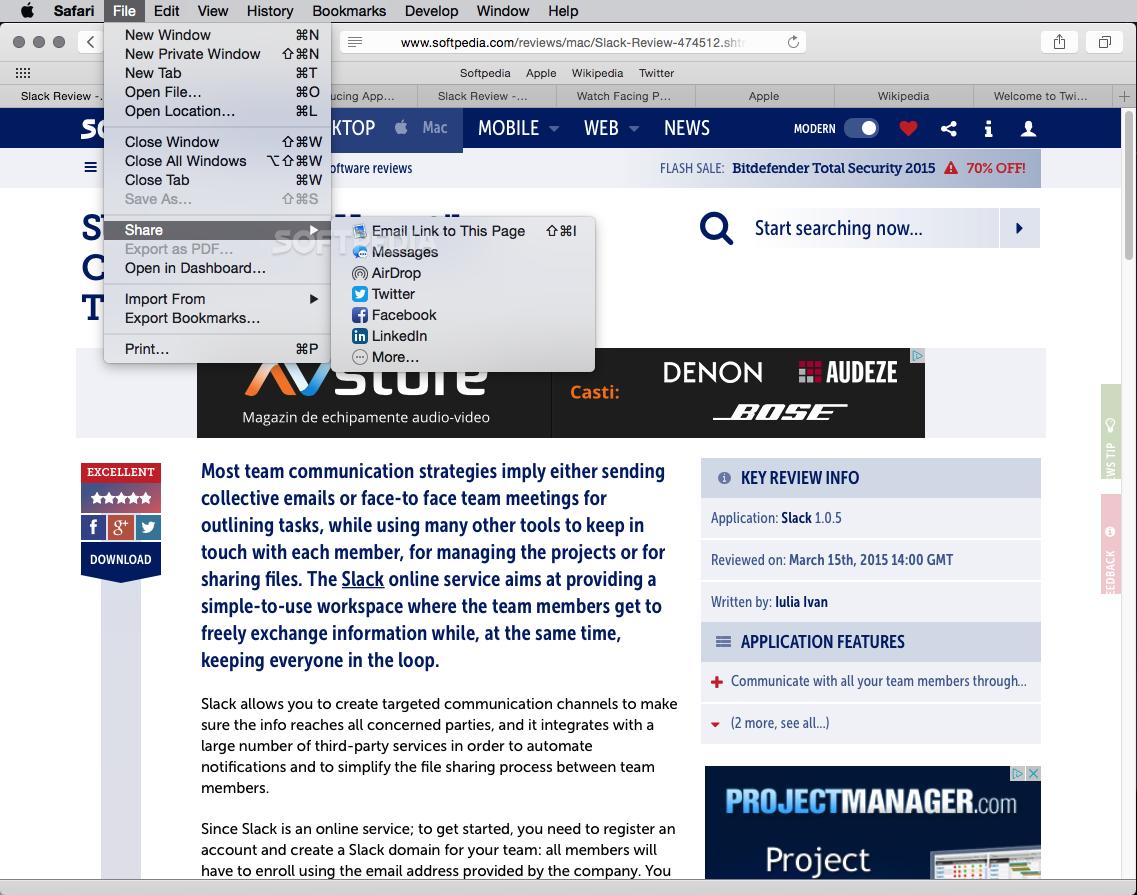 Safari Mac 12 1 2 / 13 Technology Preview 91 - Download