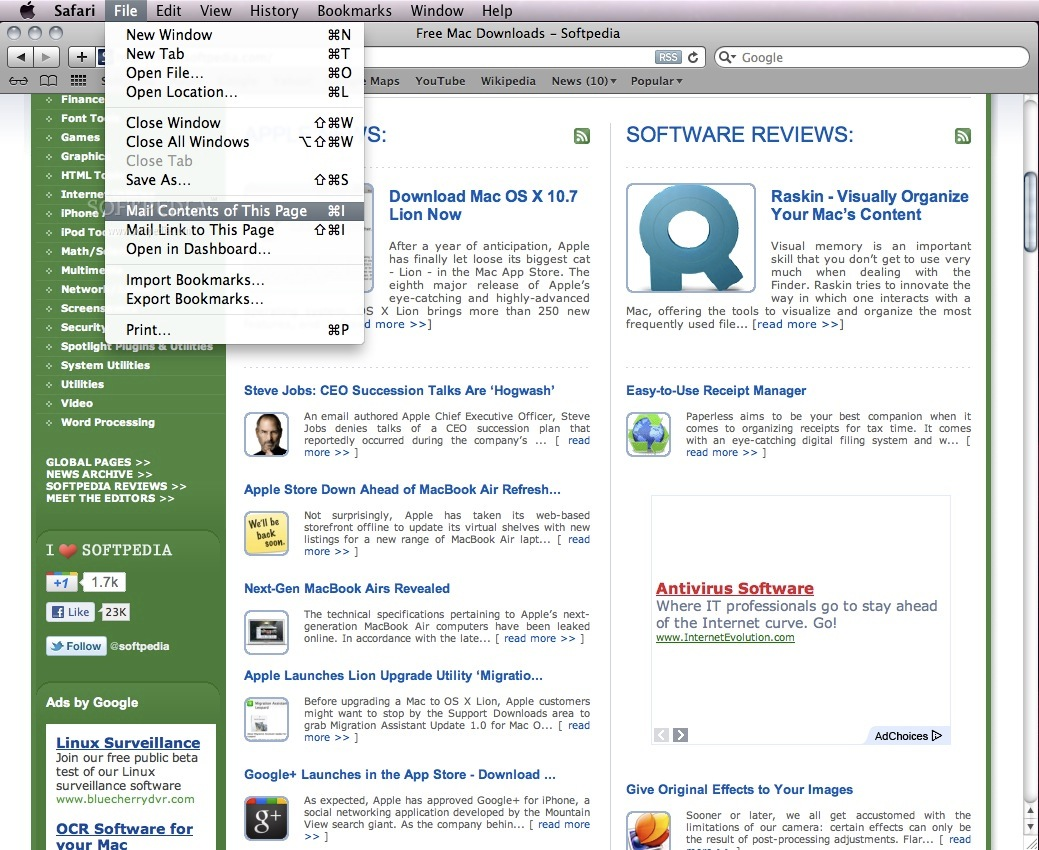 Safari screenshot 7