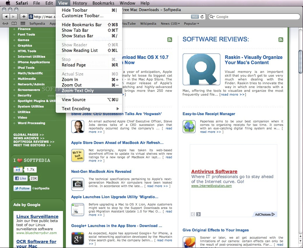 Safari screenshot 8
