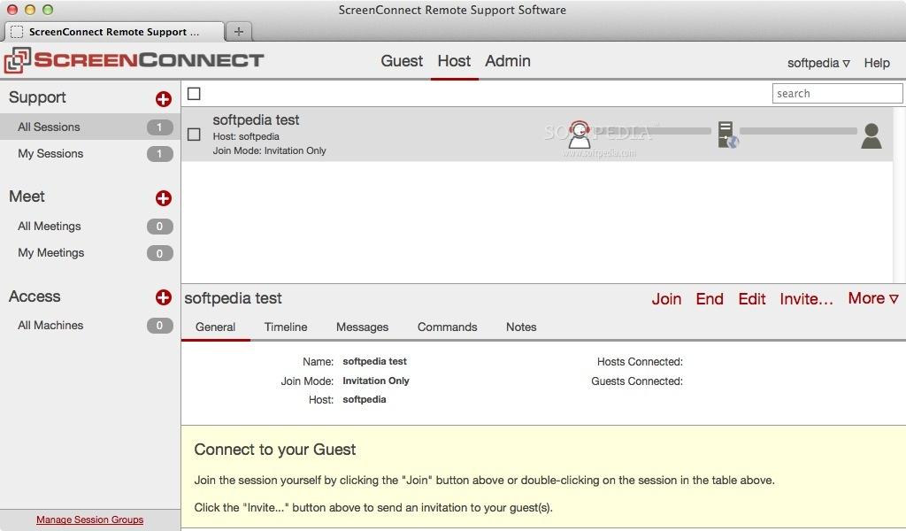 ScreenConnect Mac 6 8 20124 6845 - Download