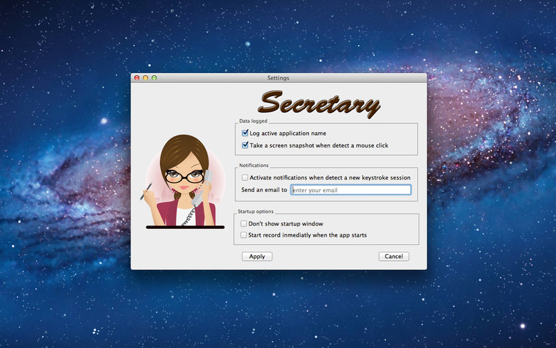Secretary screenshot 1