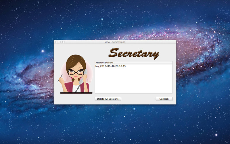 Secretary screenshot 2