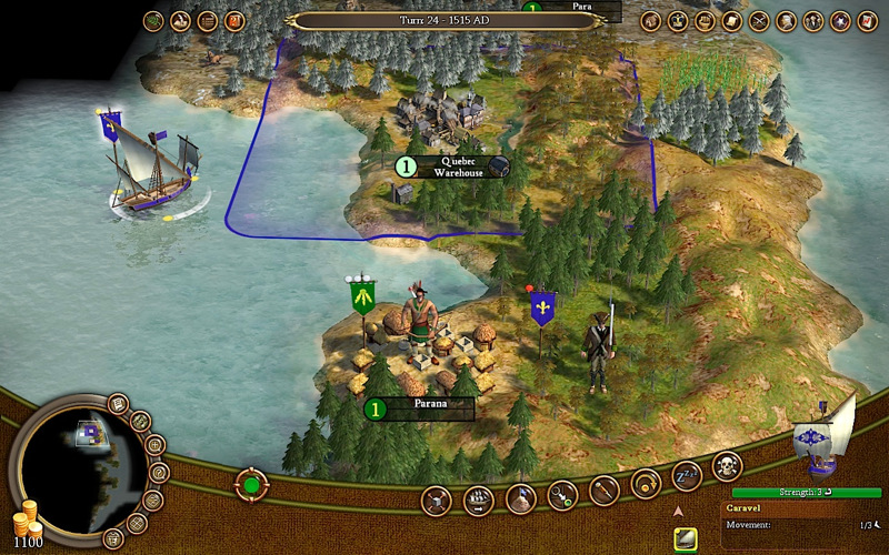 The Sid Meiers Civilization IV game re-imagined