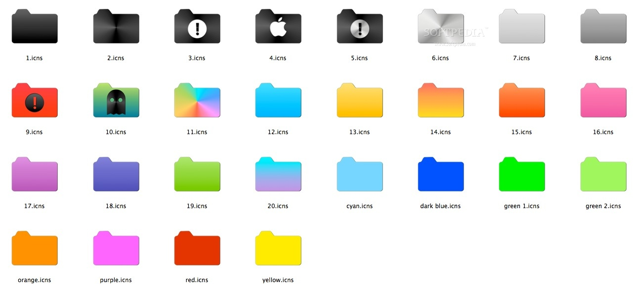 Simple Folder Icon Pack Mac - Download