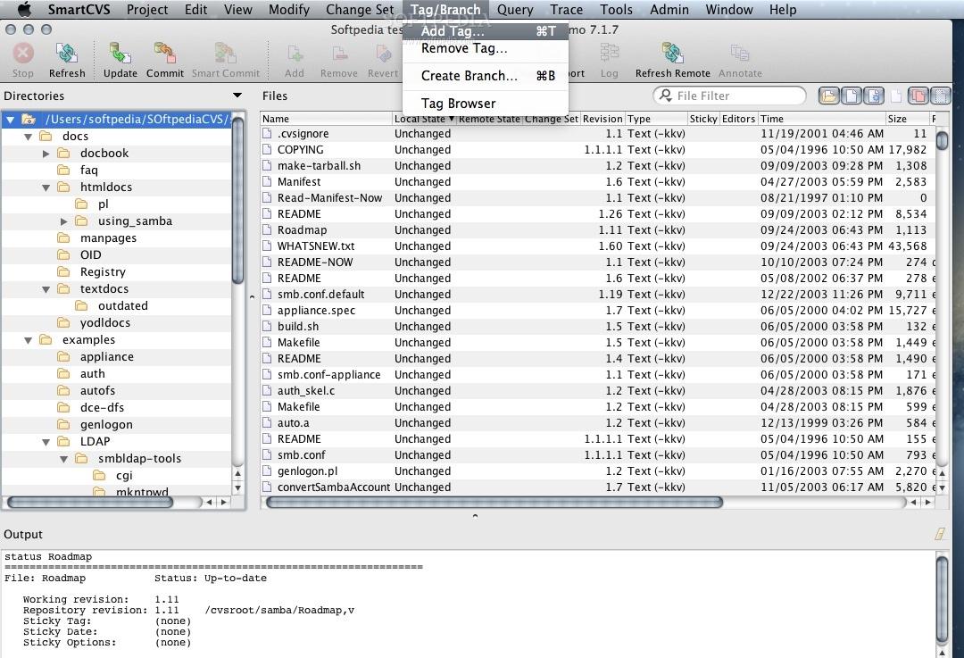 smartcvs mac 7 1 9