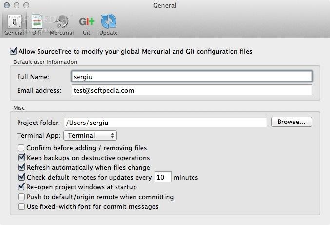 SourceTree Mac 3 0 1 Build 205 - Download
