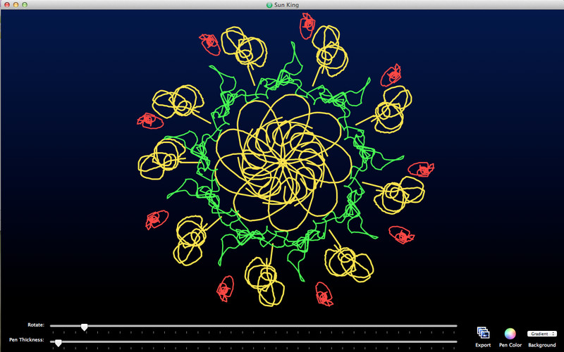 SpiralDraw screenshot 3