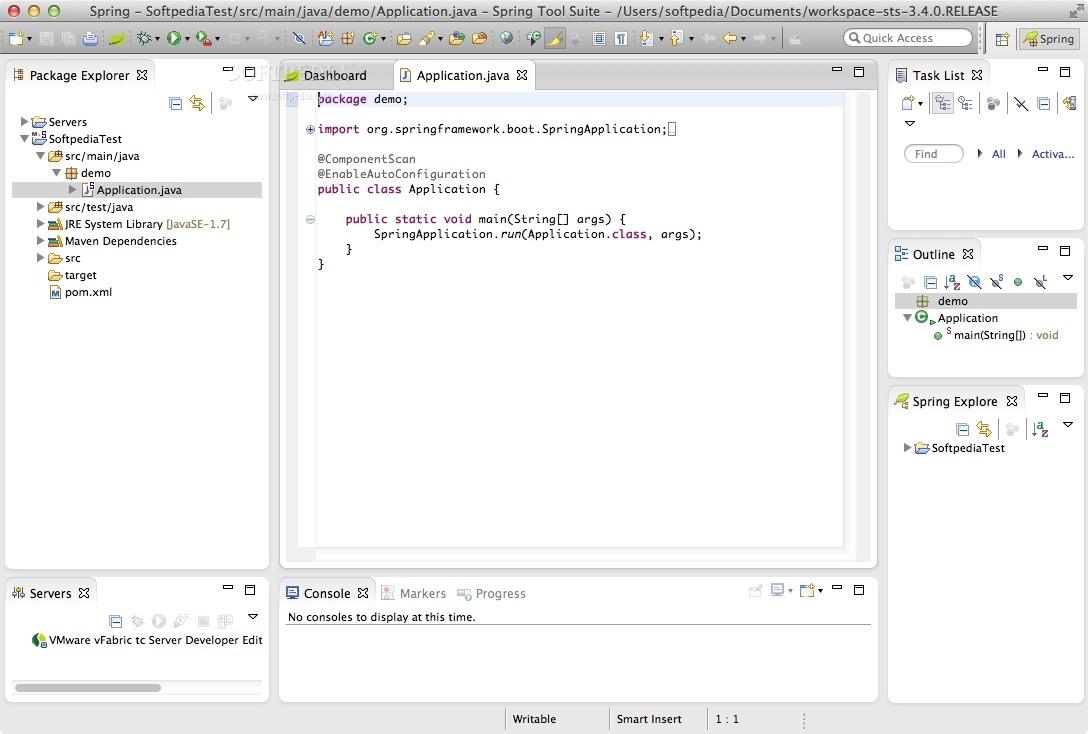 Spring Tool Suite (STS) Mac 3 9 6 - Download