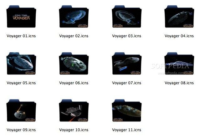 Star Trek Voyager Folders Mac - Download
