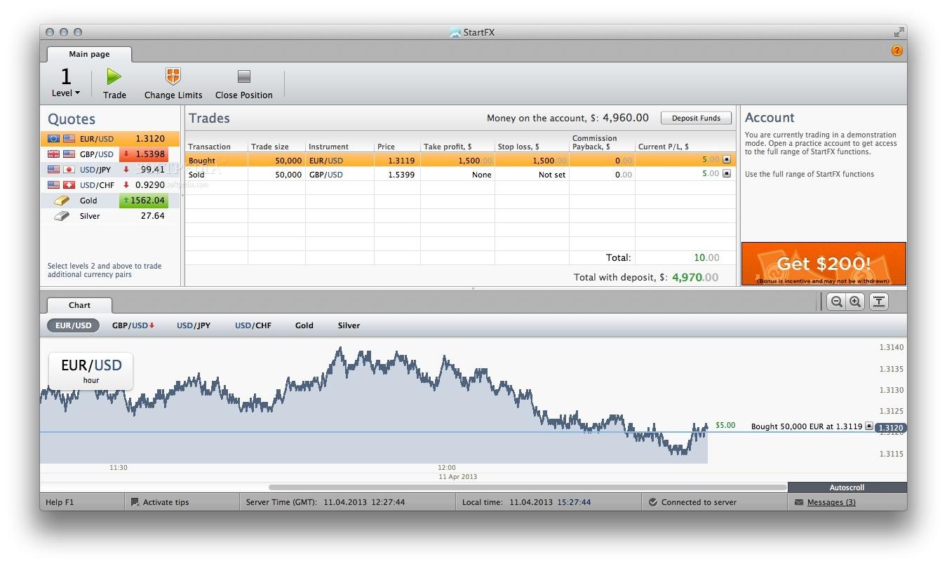 Forex trading platform for mac os x
